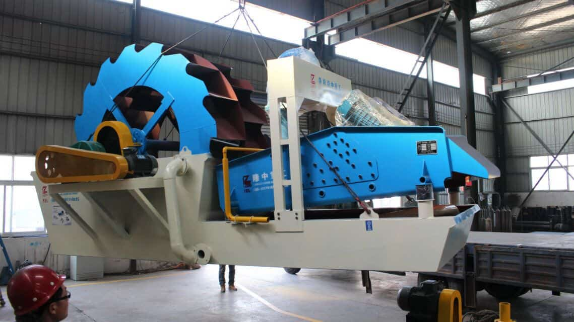 The price of a new type Sand Washing and Dewatering Machine.
