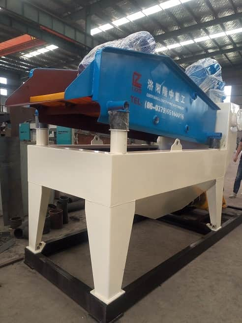 Installation process of fine sand recycling machine
