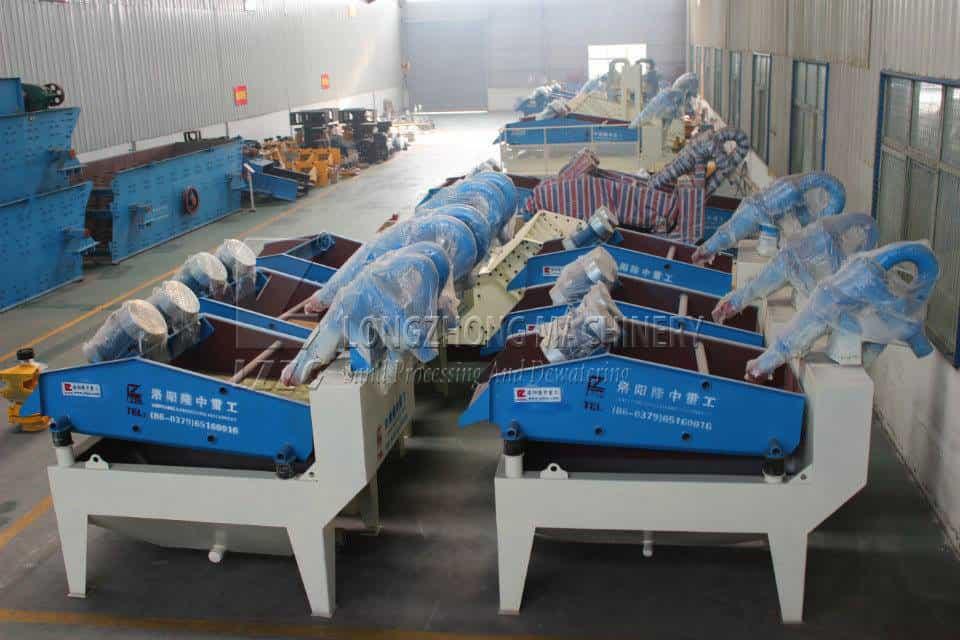 Luoyang longzhong can customize sand washer machine