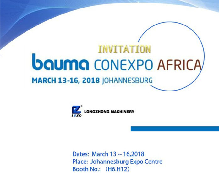 BAUMA CONEXPO AFRICA 2018_