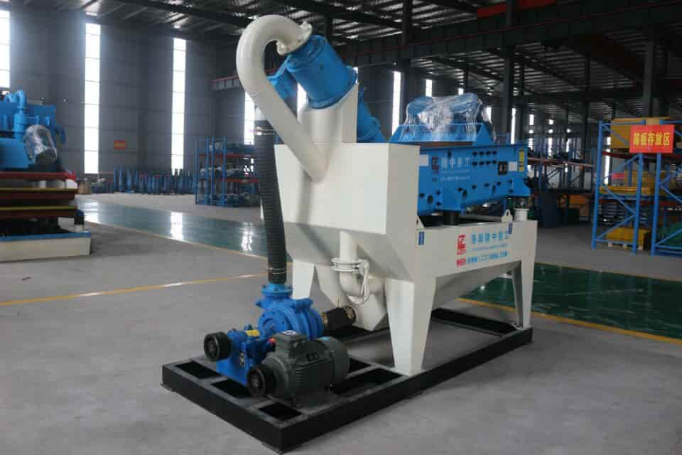 The reason for good sand recovery in lzzg fine sand recovery machine.